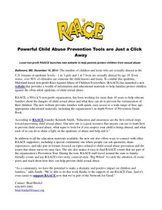 Powerful Child Abuse Prevention Tools are Just a Click Away