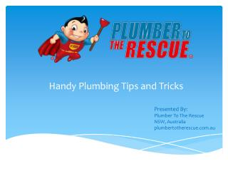 Handy Plumbing Tips and Tricks