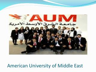 American University of Middle East