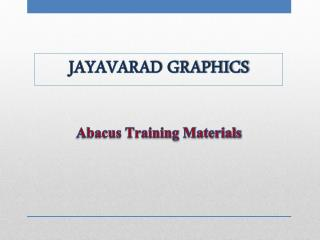 Abacus Training Materials
