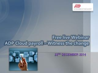 Cloud payroll webinar