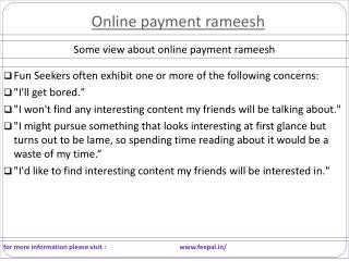 The success of international e-commerce business online paym