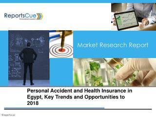 Personal Accident and Health Insurance in Egypt