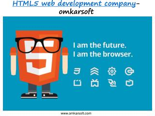 omkarsoft-HTML5 web development company