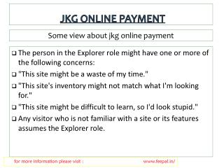 Great Advice For jkg school online payment