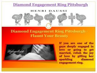 Engagement Rings Pittsburgh