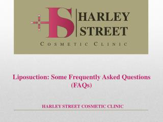 Liposuction: Some Frequently Asked Questions (FAQs)