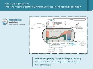 What Is The Importance Of Pressure Vessel Design And Draftin