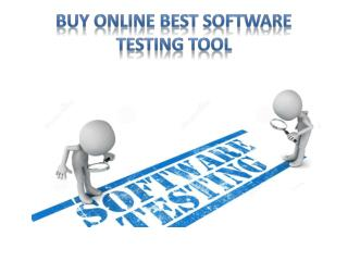 Buy Online Best Software Testing Tool