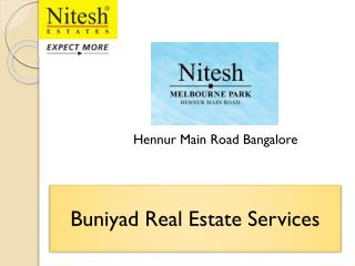 Nitesh Melbourne Park – A Place for luxury