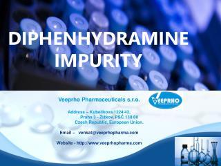 Diphenhydramine Impurity