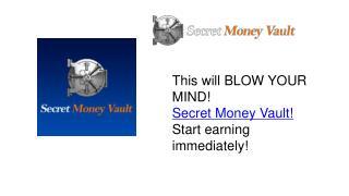 Secret Money Vault