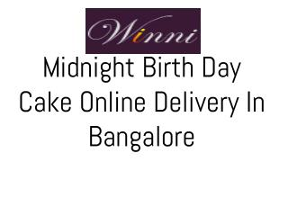 Online Cakes delivery in bangalore