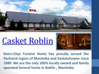 Crematorium Roblin
