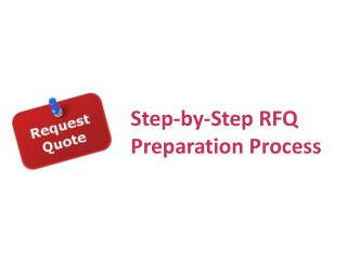 Step-by-Step RFQ Process