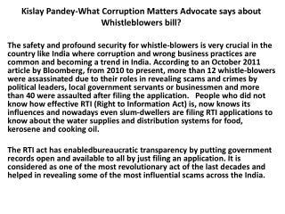 Kislay Pandey Banking Matter Advocate