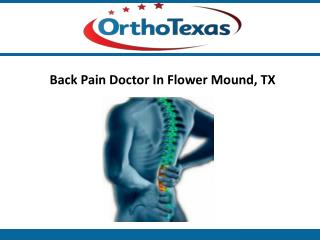 Back Pain Doctor Flower Mound