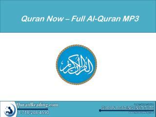 Quran Now – Full Al-Quran MP3
