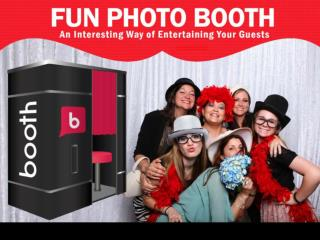 Fun Photo Booth Rental Ireland - Make Your Event Unforgettab