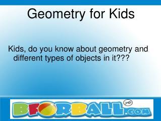 Teach Geometry for Kids - Bforball