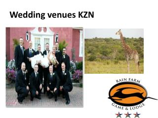 Wedding venues KZN