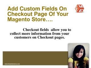 Magento Customize Checkout Extension by FME