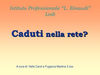 Istituto Professionale  L. Einaudi  Lodi