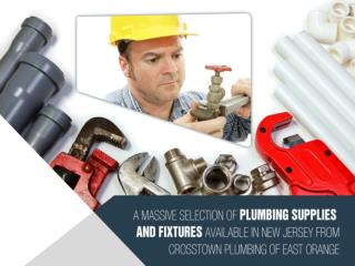 Plumbing Supply in New Jersey for All Your Plumbing Needs &
