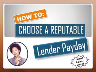 To Get Quick Money Through Better Lender