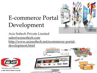 Ecommerce Portal Development | Ecommerce Website Development