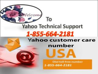 1-855-664-2181 Yahoo Password Recovery Contact Number USA