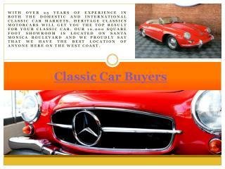 Consign Classic Car