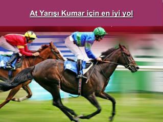 At yarışı kumar için en iyi yol