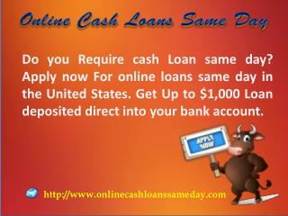 Same day Payday loans online- Best to meet the urgent ends