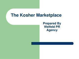 The Kosher Marketplace