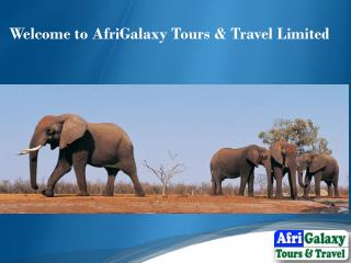 Welcome to AfriGalaxy Tours & Travel Limited