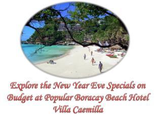Popular Boracay Beach Hotel Villa Caemilla