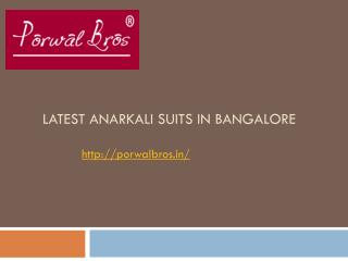 Buy designer suits in India.