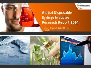 Global Disposable Syringe Market 2014