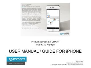 How to Use Net Chart Interactive Highlight for iPhone