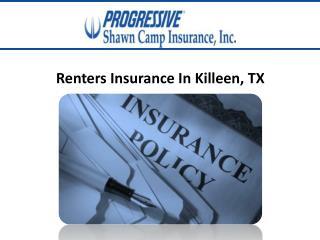 Renters Insurance Killeen, TX