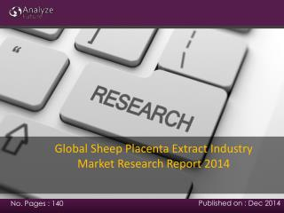 Global Sheep Placenta Extract Industry  Research Report