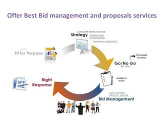 Offer Best Bid management and proposals services