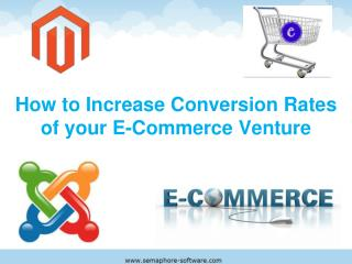 Increase the Conversion Rates Of Your E-Commerce venture