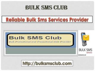 Bulk sms Service in Indore