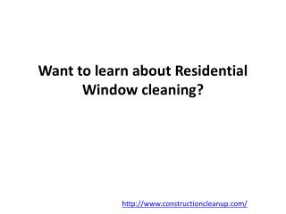 Residential Cleaning Service Bel Air