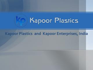 Kapoor Plastics Distributor of Lexan Polycarbonate Sheets