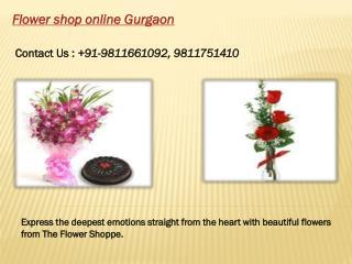 Flower Shop Online Gurgaon