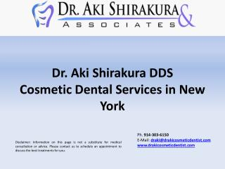 Dr. Aki Shirakura DDS | Cosmetic Dental Services in NY