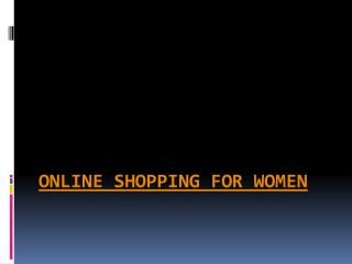 Top Online Shopping for Women